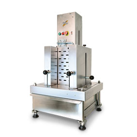 Chocolate flaking machine